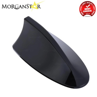 ABS Plastic Roof Shark Fin Style Car Antenna (Black)