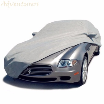 Adventurers Waterproof Lightweight Nylon Car Cover for Sedan Cars