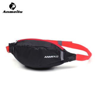 ANMEILU Outdoor Sport Waterproof Multi-functional Waist Bag FannyPack, Black - intl Price Philippines