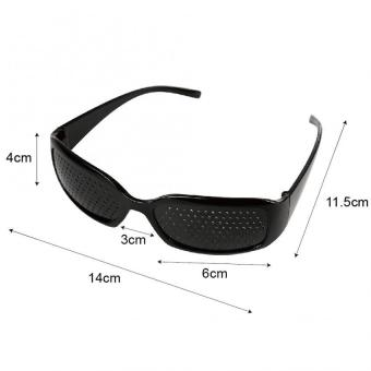 Anti-fatigue Pinhole Glasses Glasses Vision Improver Eyesight Health Care Eyewear - 5