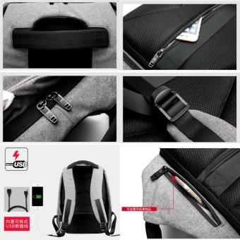 Anti theft Backpack bag travel waterproof bag - intl - 5