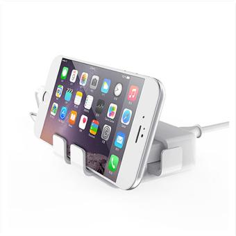 APPO LAMYOO C47 4 USB Quick Charger Universal USB Charger (White) - 3