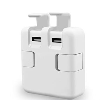 APPO LAMYOO C47 4 USB Quick Charger Universal USB Charger (White) - 2