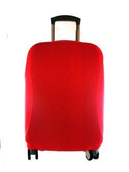 ARC Suitcase/Luggage Cover Plain Red (Medium 21-26 inches) Price Philippines