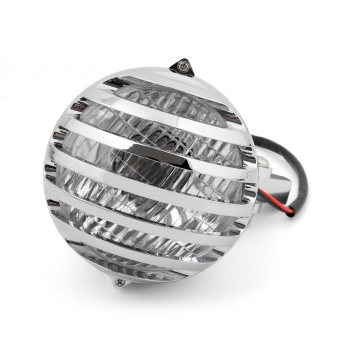 Areyourshop Grill Bar Head Lamps Motorcycle Round Head Light For Harley Chopper Bobber - intl - 4
