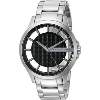 Armani Exchange Smart Men's Silver Stainless Steel Strap Watch AX2179