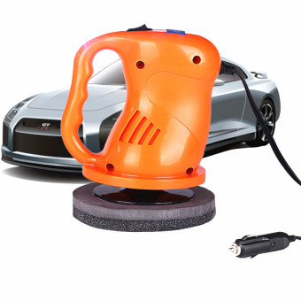 AS SEEN ON TV 12v Portable Car Polisher Electric Waxing Machine Orange