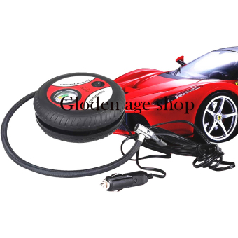 AS SEEN ON TV Portable Tire Inflator 12V Electric Car Air Compressor Multifunctional Pump