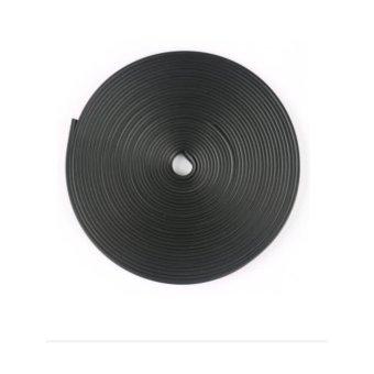 Auto Car Wheel Hub Rim Edge Rubber Strip( black ) - intl - 2