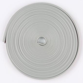 Auto Car Wheel Hub Rim Edge Rubber Strip gray - intl