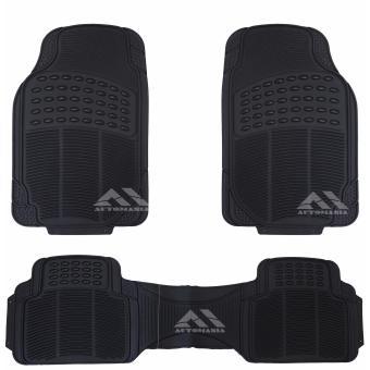 Autoform 3PC-BLK Plastic Car Mat (Black) - 2