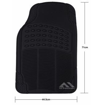 Autoform 3PC-BLK Plastic Car Mat (Black) - 3