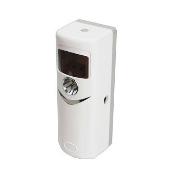Automatic Light Sensor Aerosol Air Freshener Dispenser White OK-002 - 3