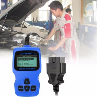 AUTOPHIX VAG0007 OBDII Car Code Scanner OBD II / EOBD CAN Fault Reader Car Tool LCD Display - intl Price Philippines
