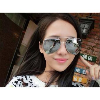 Aviator Oversized Sunglasses Women Oversized Shades - 3