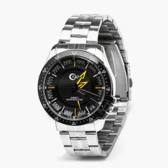AXN Mens Stainless Steel Water Resistant Watch (Yellow)