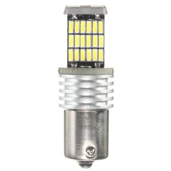 BA15S 1156 P21W 7507 4014 SMD 45 LED Light Bulb Turn Signal PureWhite DC12V - intl Price Philippines