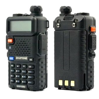 Baofeng/Pofung Uv5R Vhf/Uhf Dual Band Two-Way Radio (Black) Set Of2