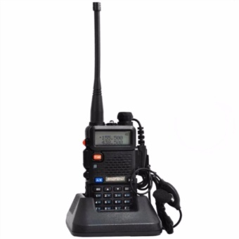 Baofeng/Pofung VHF/UHF Dual Band Two-Way Radio (Black) UV5R