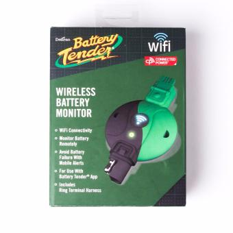Battery Tender 081-0172-EUK Wireless Battery Monitor (Black/Green) - 2