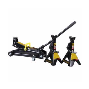 Black Jack Hydraulic Trolley Jack with Jack Stand