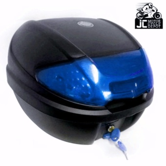 BMX Motorcycle Scooter Top Box Tail Trunk Storage Luggage Givi (Blue) Price Philippines