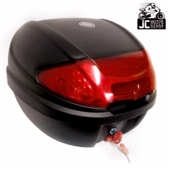 BMX Motorcycle Scooter Top Box Tail Trunk Storage Luggage Givi (Red) Price Philippines