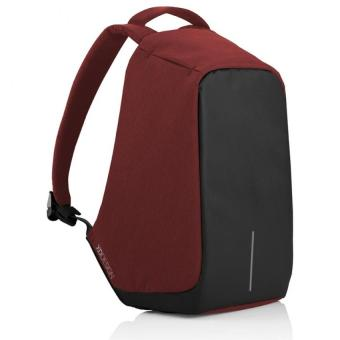BOBBY Anti-Theft Backpack by XD Design (Red is the New Black)