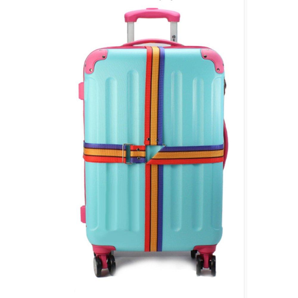 BolehDeals BolehDeals Adjustable Travel Luggage Baggage Suitcase Bag Packing Strap Secure Belt - Intl