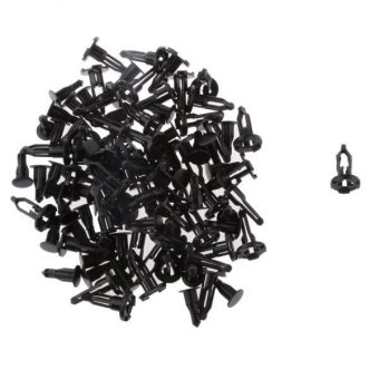 BolehDeals Nylon 50Pcs Front Bumper Cover Retainer Push Type ClipFastener for Toyota - intl