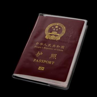 BolehDeals Transparent Passport Cover Holder Case Organizer ID CardProtector White - 5