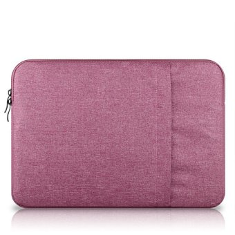 Bora 15.4'' Waterproof Laptop Sleeve Case HandBag Protective Coverfor Apple AlienwareMac,Micro Surface,Acer, Asus, Dell, Fujitsu,Lenovo, HP, Samsung, Sony, Toshiba (Pink) - intl - 2