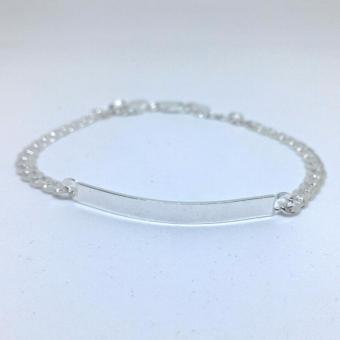 Bracelet for Men 92.5 Italy Silver (4M) - 2