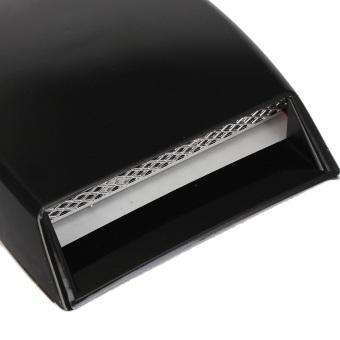 Brand New Size 10x 6.3x 2 Car Decorative Air Flow Intake Cover Hood Vent Bonnet - 4