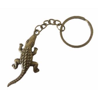 Bronze Color Crocodile Charm Key Chain Animal Charm Keychain BUY 1TAKE 1 - 3