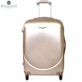 Brookstone Holli Crosley Lightweight Plain Hard Case 4 Wheel 2in1 Travel Luggage (830) - 3