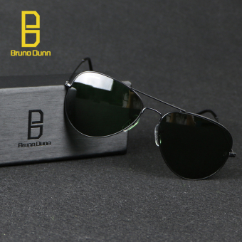 bruno dunn Sunglases aviator 3025 Classic Coating Shades Designer Sunglasses UV400 Anti-UV (Black) g15 58mm - intl - 4