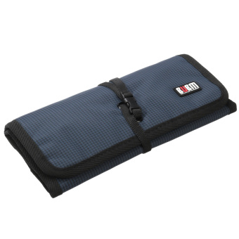 BUBM Creative Spring Rolls Storage Bag L Size Blue - picture 2