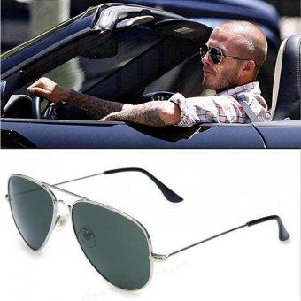 [Buy 1 Get 1 FREE] 2017 New Popular Eyewear Fashion Vintage CoolWomen Brand Designer Sunglasses Retro Men Classic Aviator SunGlasses Mirrored Shades Accessories UV400 - intl - 3