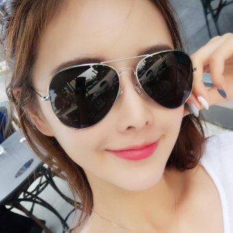 [Buy 1 Get 1 FREE] 2017 New Popular Eyewear Fashion Vintage CoolWomen Brand Designer Sunglasses Retro Men Classic Aviator SunGlasses Mirrored Shades Accessories UV400 - intl - 4