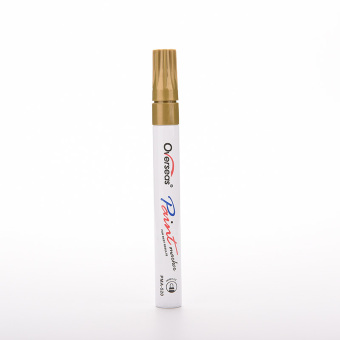 Buytra Car Tire Marker Pen Paint Universal Waterproof Gold - picture 2