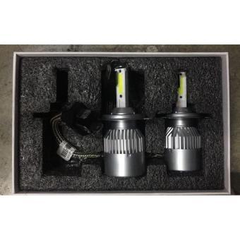 C9 H4 LED Headlight Bulbs Kit 6000K 4000LM