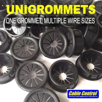Cable Control UNIGROMMETS (fits 0awg and smaller) , Grommets