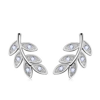 Candy Online Korean Silver Earrings Jewelry ED213 - 2