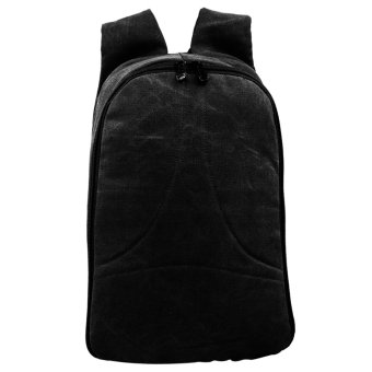 Canvas Outdoor and Adventure Back to Back Backpacks 0210 (Black)