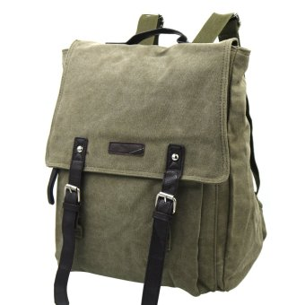 Canvas Outdoor and Adventure Backpacks 802 (Green)