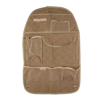 Car Auto Back Seat Organizer Bags Assorted Bag Pocket #JT1 (Beige)