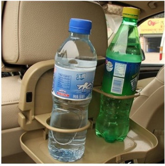 Car back rear seat dining table dining car cup holder water