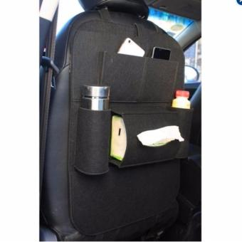 Car Back Seat Organizer (random color) - 4