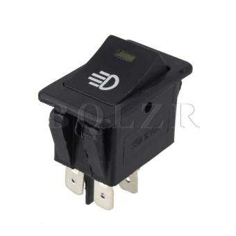 Car Fog Light Switch (Black)